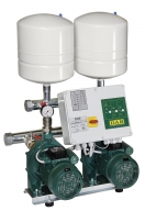 Насосные станции BOOSTER SETS WITH 2 CENTRIFUGAL PUMPS + pilot pump IE3 MOTORS 2NKP-G 65-160/157 11-KVCX 65-80  400-50